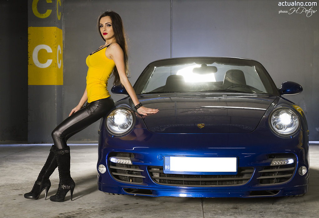 Drift Queen Iva Russinova for Actualno.com